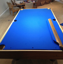 Recovering Your Pool Table. St. Louis ...